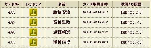 くじ履歴2