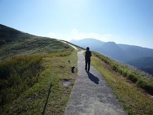 大室山山頂散歩