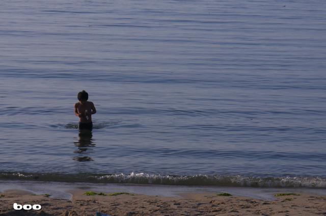 寒川海水浴場。。。二
