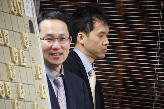こっそり(?)会場端にいらした慶太先生と畠山先生。このあと出番なんです☆