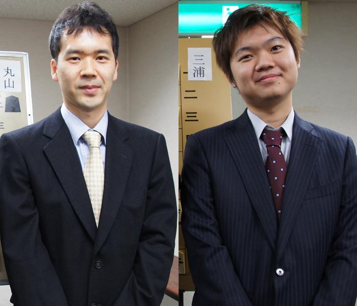畠山先生と村田顕弘先生☆とってもきさくに撮影に応じてくださいました。笑顔が素敵です☆