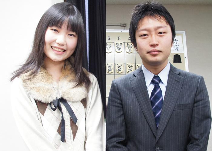 デビューから大活躍の長谷川優貴女流二段と全勝でC2を一期抜けされた船江先生