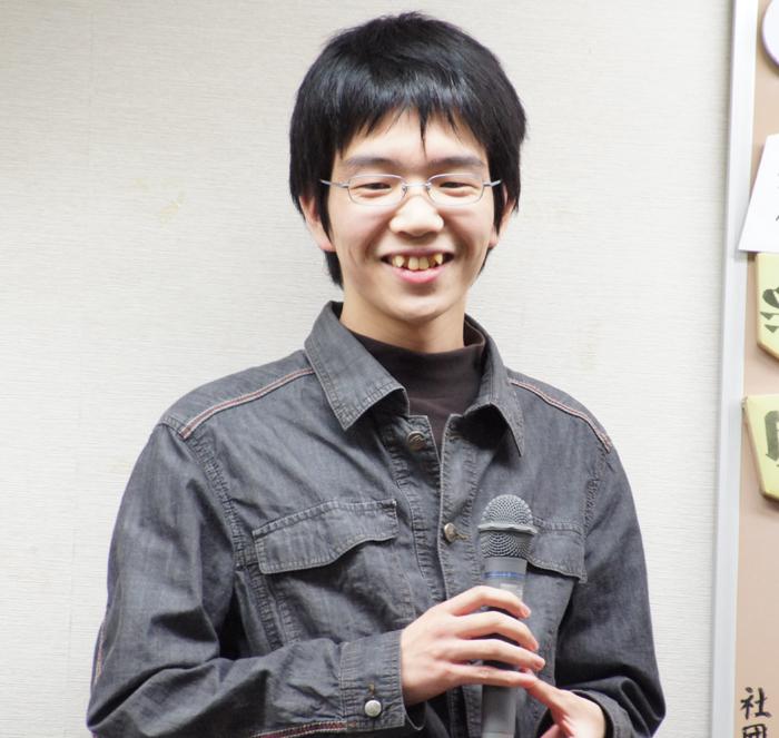 こちらも笑顔全開、豊島先生