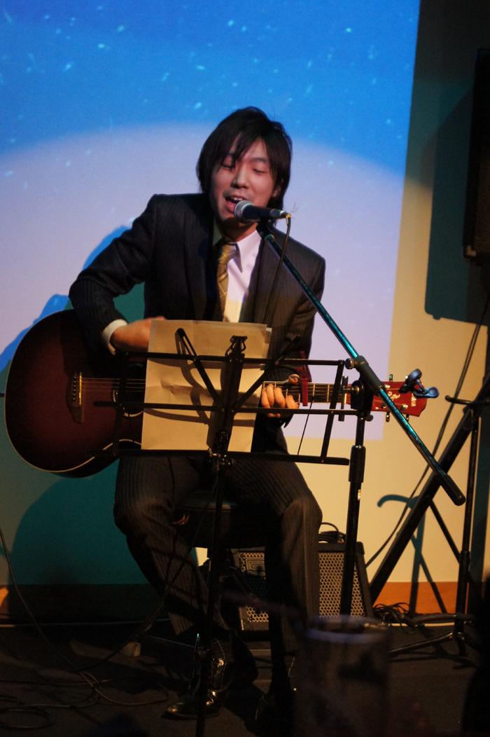 素敵な美声を聞かせてくださった佐藤四段