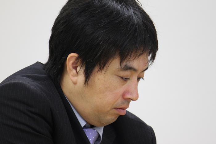 予想(?)どおり、石田流とした久保二冠