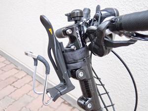 Bikeguyどこでもケージホルダー取り付け