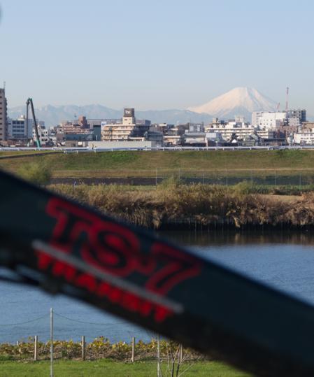 トランジットセブンと富士山