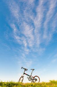 トランジットセブンと青い空