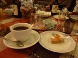 ペンションのコーヒーセット (ケーキ… 小さく上品で~す)