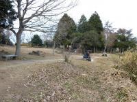 福山城跡の広場