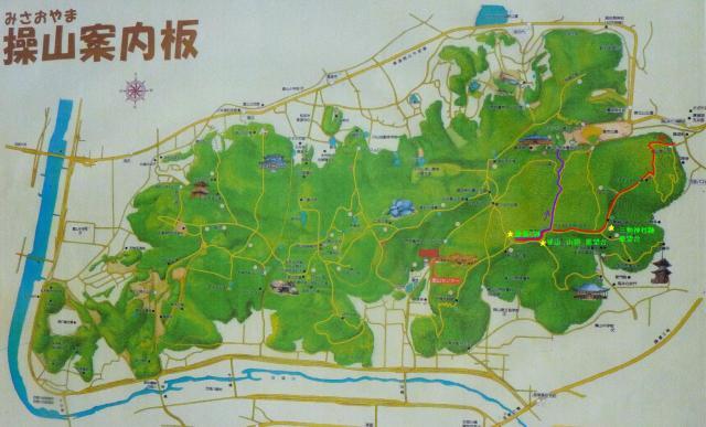 2012年4月15日 散策コース