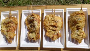 北海道松前町:スルメ天ぷら丼
