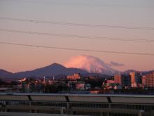 富士山もばっちり