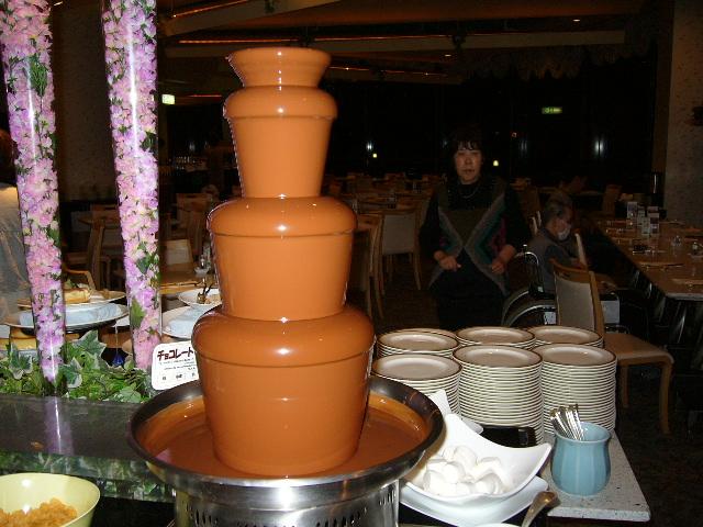 チョコの塔