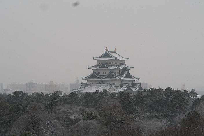 雪の名古屋城.JPG