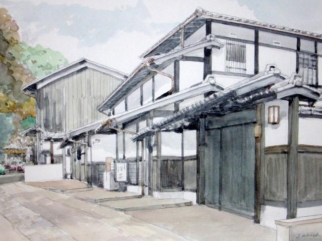 嵯峨野の道3 クレスターF6 (650x488)