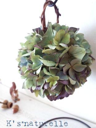 紫陽花ボール2