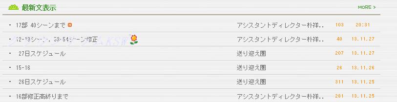 17話撮影開始20131130