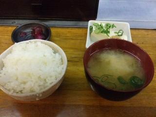 みっちゃん総本店004 ご飯セット
