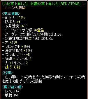 RedStone 12.09.29[07]ユニコン
