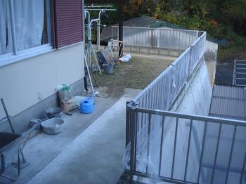フェンスを造る