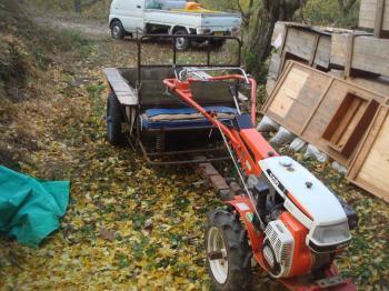 耕運機の改良
