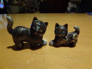中国のお土産猫