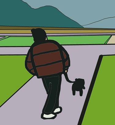 お散歩しよう