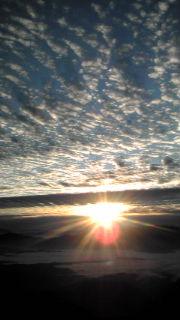 あきのウロコ雲