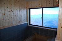 展望風呂から見える景色