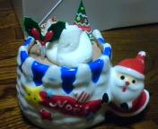 クリスマスケーキ食べました