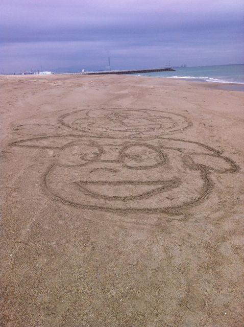 浜辺 のび太