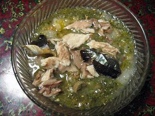 秋刀魚のせご飯