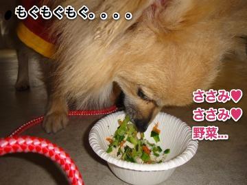 ささみ食べる