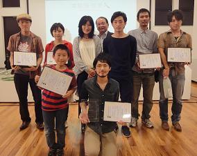 東葛映画祭の受賞写真