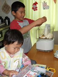 冬麻2歳の誕生日ケーキ①