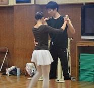 社交ダンス授業2014年11月 (1)