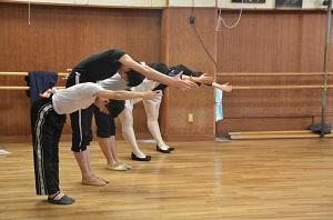 社交ダンス授業2014年11月 (2)