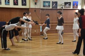 社交ダンス授業2014年11月 (3)