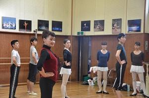 社交ダンス授業2014年11月 (4)