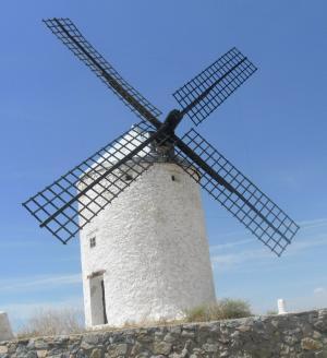 2011.9.21 ラマンチャ地方 風車