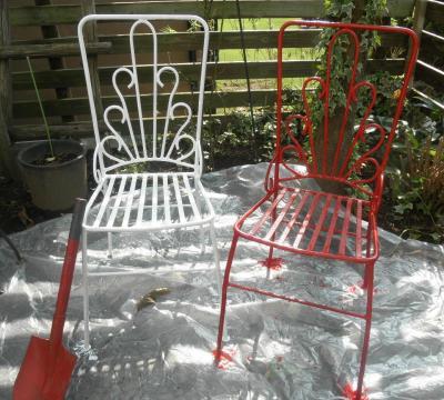 2011.10.12  50数年前の椅子 After
