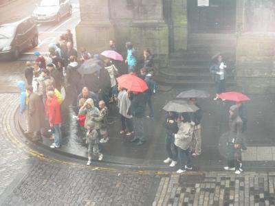 2011.11.5  雨のエディンバラ