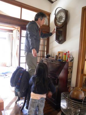 2012.02.07 別府 大きな時計 2