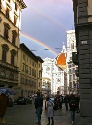 Duomoの虹