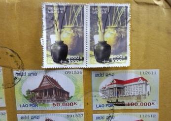 ラオスの切手