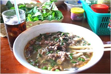 ラオスの麺