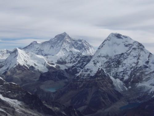 山頂からマカルー