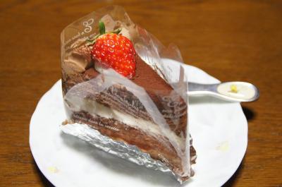 苺チョコケーキ