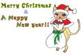 クリスマスカード2 モンハンアイルー